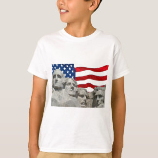 Rushmore / Flag T-Shirt