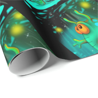 "RUSS ALIEN 30"" x 6'   CARTOON Wrapping Paper"