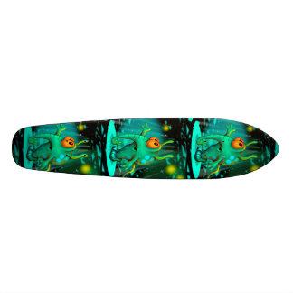 "RUSS ALIEN CARTOON Skateboard 7 1/8"""