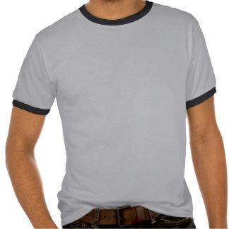 Russ Boo Yah Ringer Mens T Shirts