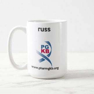russ coffee mug