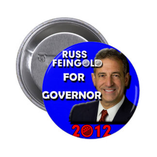 Russ Feingold For Governor 2012 6 Cm Round Badge