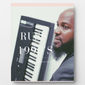 Russ Keyboard Player Plaque