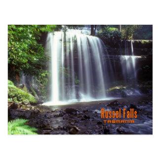 Russel Fall, Tasmania,Australia Postcard