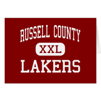 Russell County - Lakers - High - Russell Springs Greeting Card