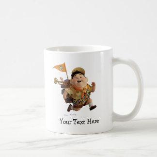 Russell Running from Disney Pixar UP Coffee Mug