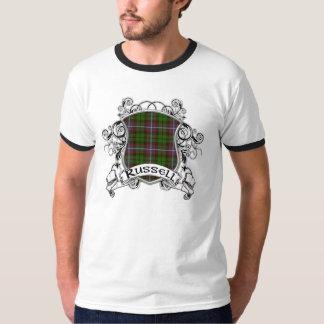 Russell Tartan Shield Tshirt