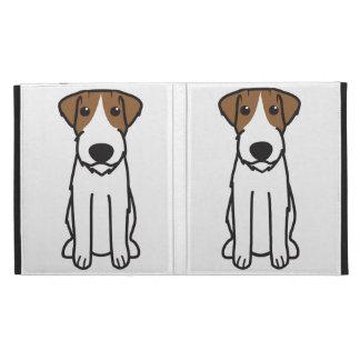 Russell Terrier Dog Cartoon iPad Case