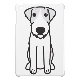 Russell Terrier Dog Cartoon Cover For The iPad Mini