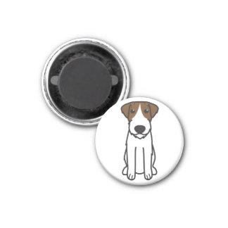 Russell Terrier Dog Cartoon Magnet