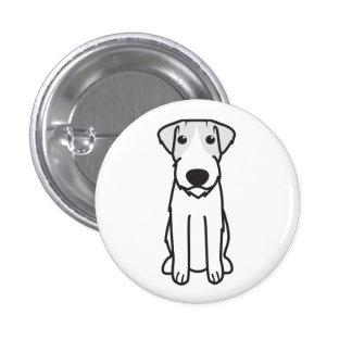 Russell Terrier Dog Cartoon Pins