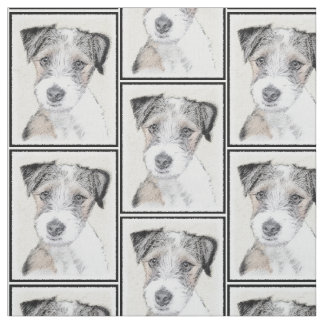 Russell Terrier (Rough) Fabric