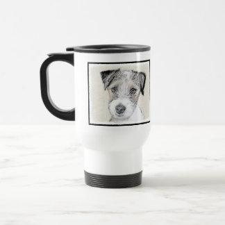 Russell Terrier (Rough) Travel Mug