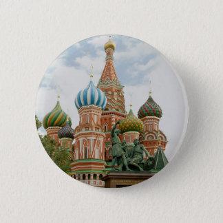 Russia 6 Cm Round Badge