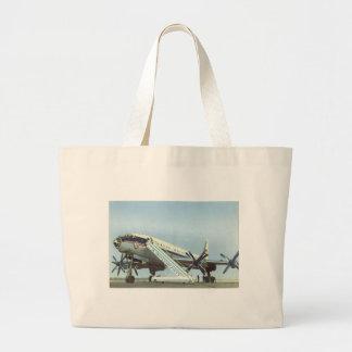 RUSSIA Aeroflot Tu 114 AIRLINER Tote Bag
