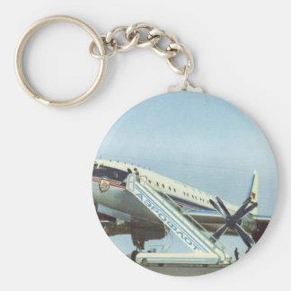 RUSSIA Aeroflot Tu 114 AIRLINER Keychains