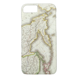 Russia and Asia Engraved Map iPhone 7 Case