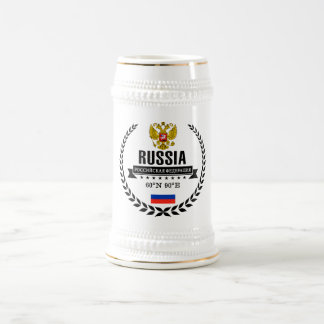 Russia Beer Stein