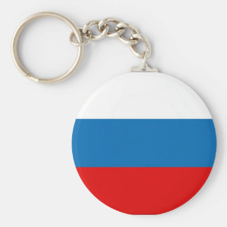 RUSSIA Button Keychain