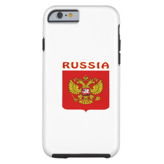 Russia Coat Of Arms Tough iPhone 6 Case