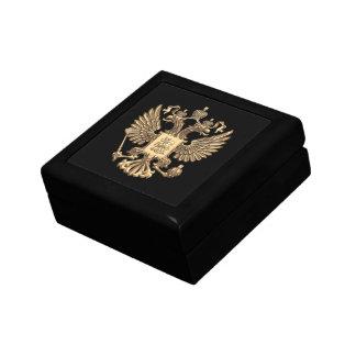 Russia double eagle small square gift box