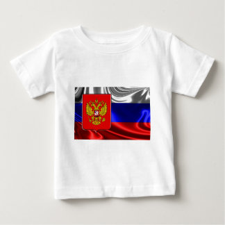 russia-Flag #4 Baby T-Shirt