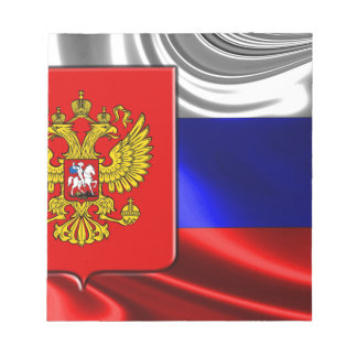 russia-Flag #4 Notepad