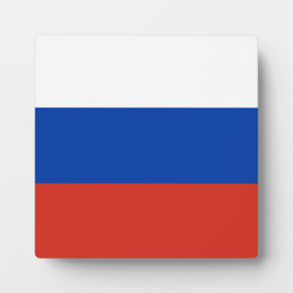 Russia Flag Display Plaques