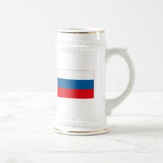 Russia Flag (light) Mug