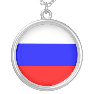 Russia Flag Necklace