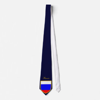 Russia Flag Personalized Tie
