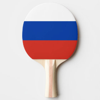 Russia Flag Ping Pong Paddle