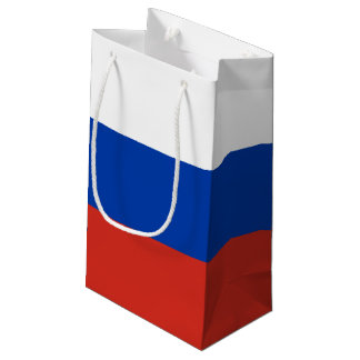 Russia Flag Small Gift Bag