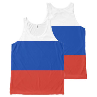 Russia Flag Tank top