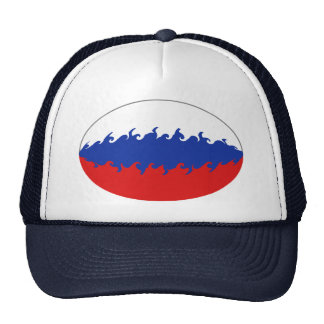 Russia Gnarly Flag Hat
