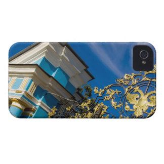 Russia, Pushkin. Gate detail and support tower iPhone 4 Case-Mate Cases