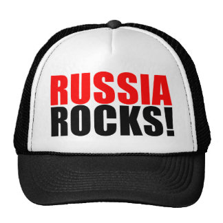 RUSSIA ROCKS MESH HAT