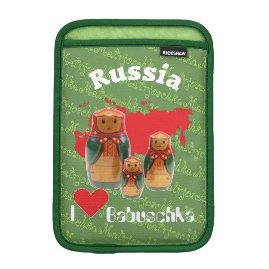 Russia - Russia babushka IPad bag iPad Mini Sleeves