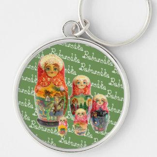 Russia - Russia babushka key supporter Key Ring