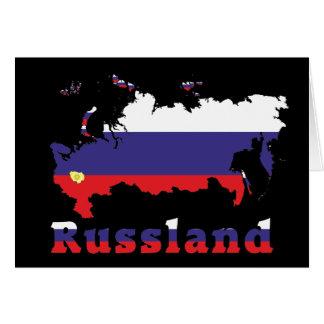 Russia - Russia map Card