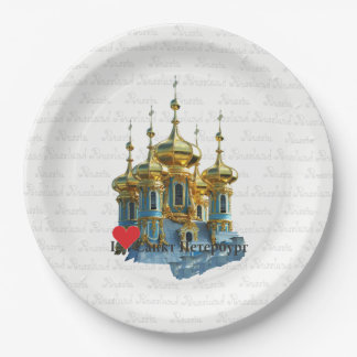 Russia - Russia St. Petersburg plate