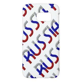 Russia Russian Flag Colors Typography Elegant