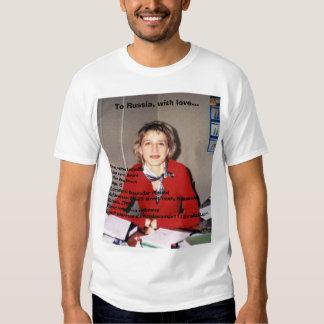 Russia scam artist. shirts