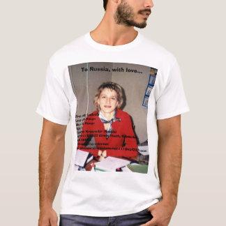 Russia scam artist. T-Shirt