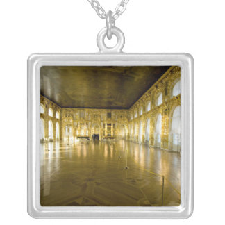 Russia, St. Petersburg, Catherine's Palace (aka 11 Square Pendant Necklace