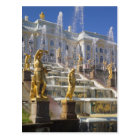 Russia, St. Petersburg, The Great Cascade, Postcard