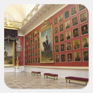 Russia, St. Petersburg, The Hermitage (aka 5 Square Sticker