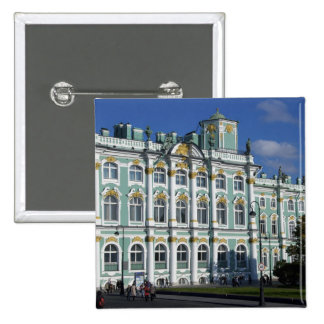 Russia, St. Petersburg, Winter Palace, The 2 15 Cm Square Badge