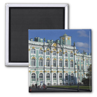 Russia, St. Petersburg, Winter Palace, The 2 Square Magnet