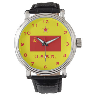 Russia (USSR) Red Flag Wrist Watch